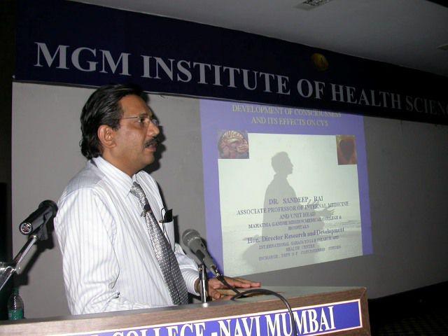 国际心脏病学会议霎哈嘉瑜伽的研究成果
